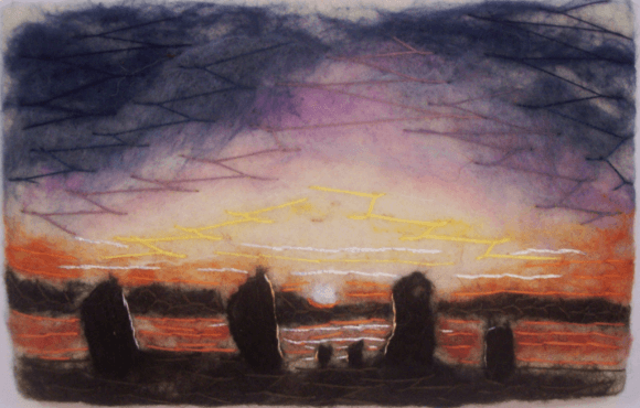 Midsummer Sunrise at the Ring of Brodgar.