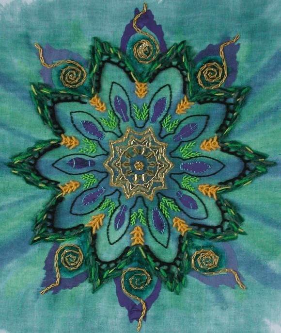 Starry Night kaleidoscope