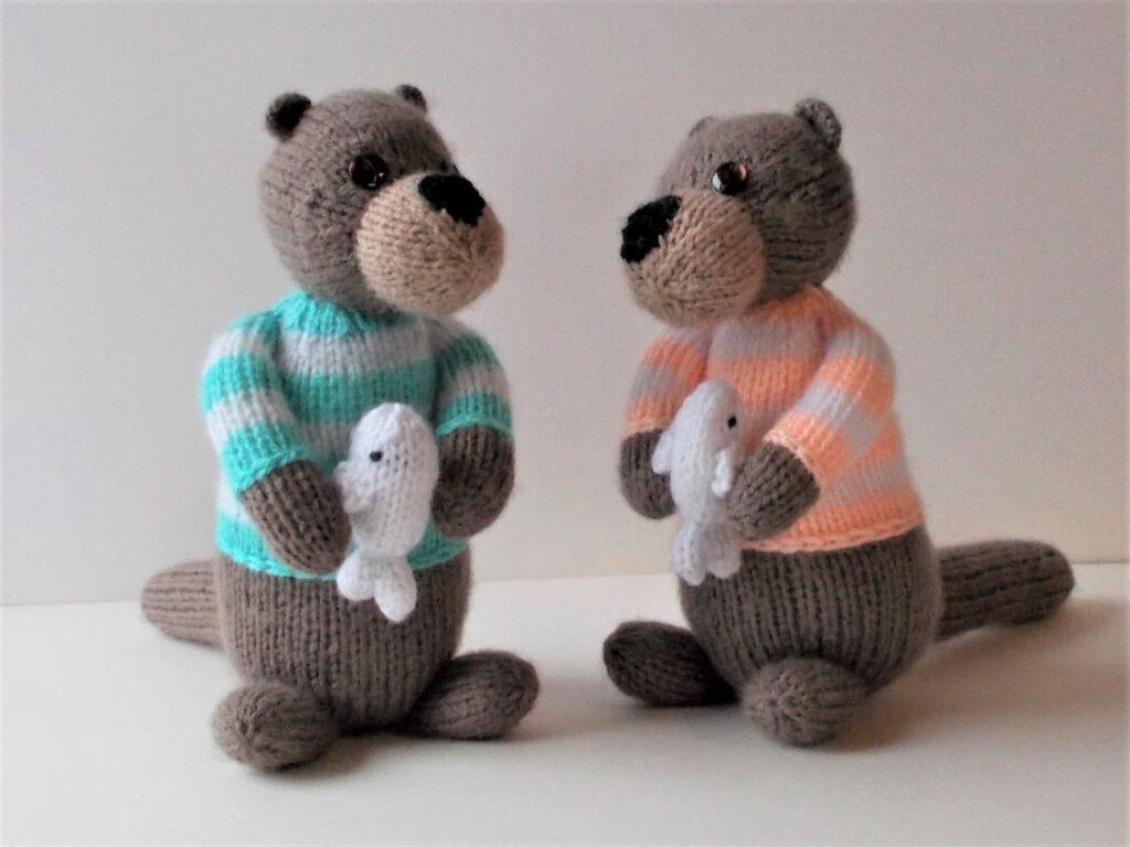 Olaf and Olvir sea-otters